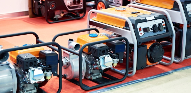 various types of generators for sale